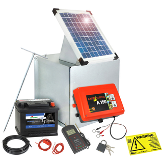 Berühmt Komplettset Solar am Weidezaun: 5, 10, 30 oder 50 Watt &TR_79