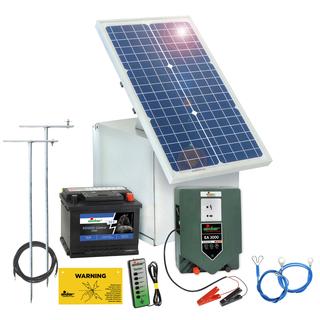 Atemberaubend Weidezaun 12 Volt Stromversorgung 30 Watt Solar & Zubehör #DS_15